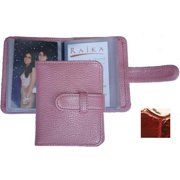 Raika NI 108 RED 3in. x 4in. Photo Card Case - Red