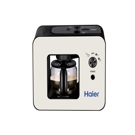 OkrayDirect Haier Brew Automatic Coffee Makers 4 Cup with Grinder Espresso Coffee