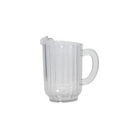 60 ounce fluted plastic pitcher. Black Bedroom Furniture Sets. Home Design Ideas