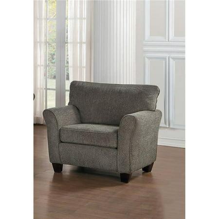 Home Elegance 8225-1 37 x 35.5 x 39.25 in. Alain Chair - Light