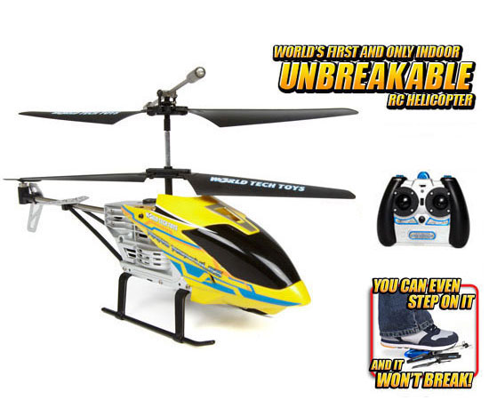Nano Hercules Unbreakable 3.5CH RC Helicopter(Colors May vary) by World Tech Toys