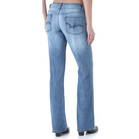 Wrangler Women's Premium Patch Mae Bootcut Jeans -