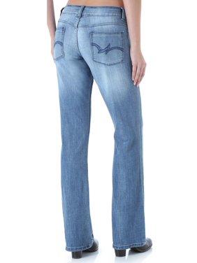 e182ec55 Product Image Wrangler Women's Premium Patch Mae Bootcut Jeans - 09Mwzmb