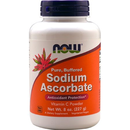NOW Foods ascorbate de sodium Protection Antioxydant, 8 Oz