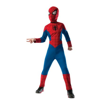 Boy's 2 in 1 Reversible Spider-Man Halloween (Wellington 7's Costumes)