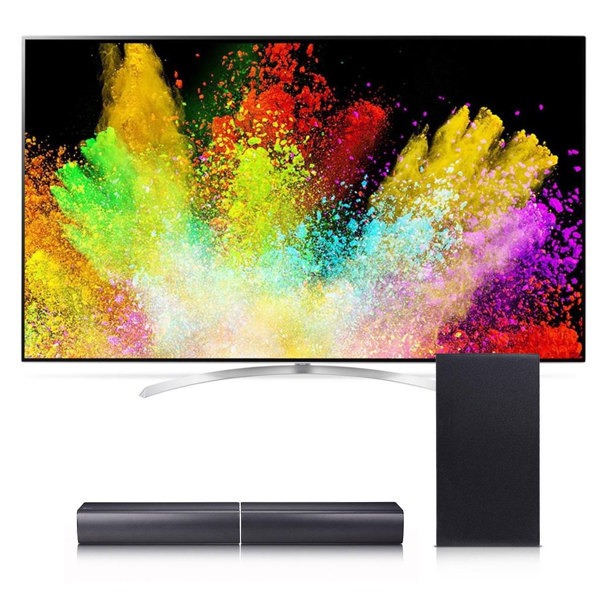 """LG 65SJ9500 65"""" 4K SUHD HDR Smart LED TV with SJ7 Soundba..."""