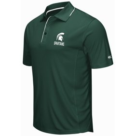 Michigan state spartans team shop walmart michigan state spartans ncaa maestro mens performance polo fandeluxe Image collections