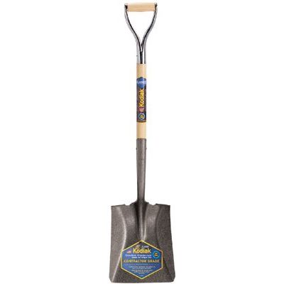 Square Point Shovel D Grip Handle