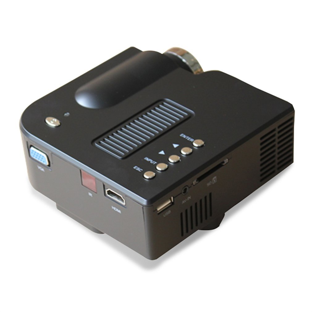 NEW Full HD 1080P Home Theater LED Mini Multimedia Projector Cinema USB TV HDMI UC28+ Black is a great projector people, projector paint