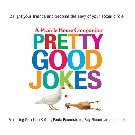 Pretty Good Jokes - Audiobook](Good Halloween Jokes And Riddles)
