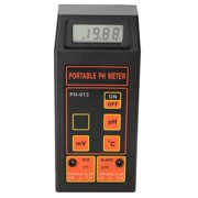 Brrnoo PH Meter,Portable 3-In-1 PH/mV/Thermometer Water Tester PH Monitor (With PH and Temp Electrodes), PH Monitor