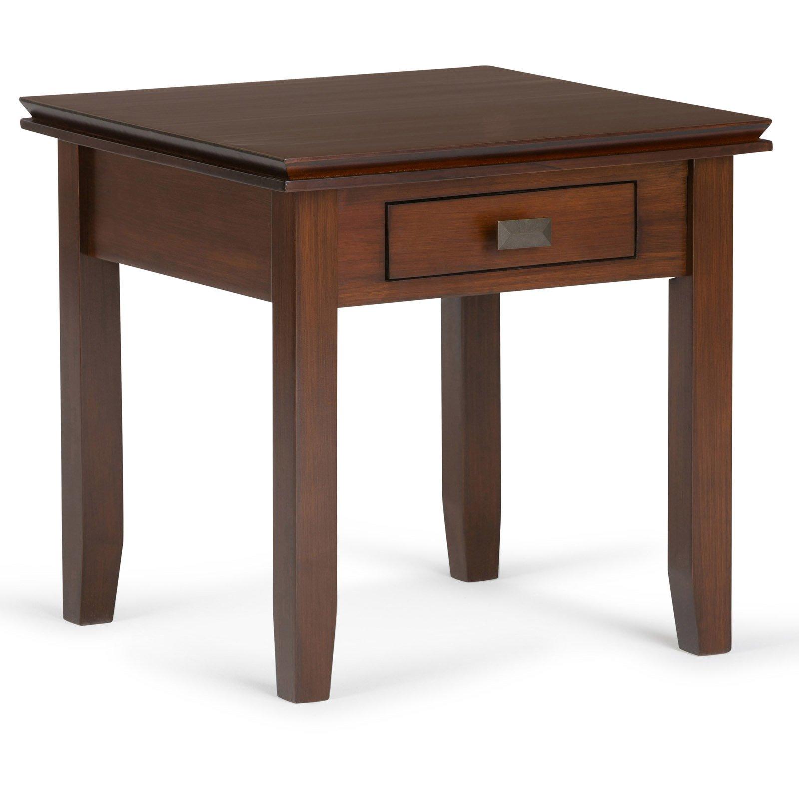 Simpli Home Artisan End Side Table
