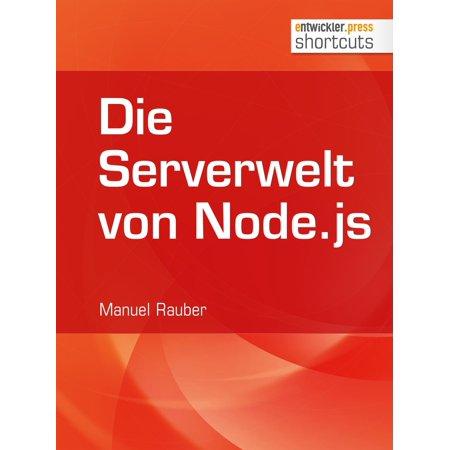 Die Serverwelt von Node.js - eBook