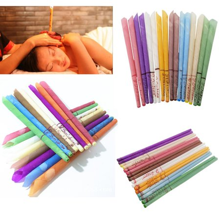 10Pcs  Ear Cleaner Wax Removal Candles Treatment Care Healthy Hollow Candles 16 Styles
