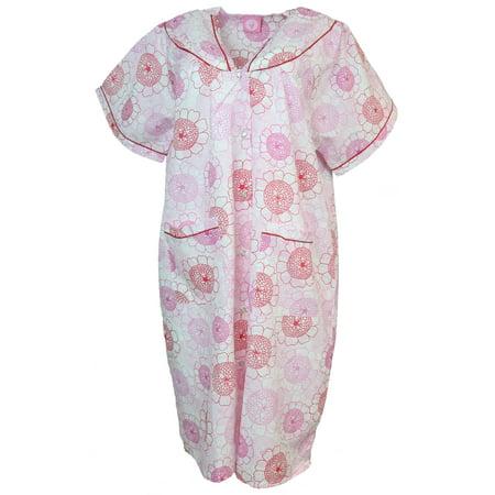 Sindrella - Sindrella Women\'s Plus Size Cotton Blend Snap ...