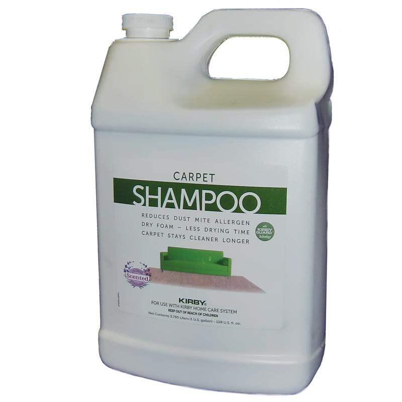 Kirby Allergen Control Shampoo 128 Oz (1 Gallon) & 9 pack Kirby G Bags + 1 Belt