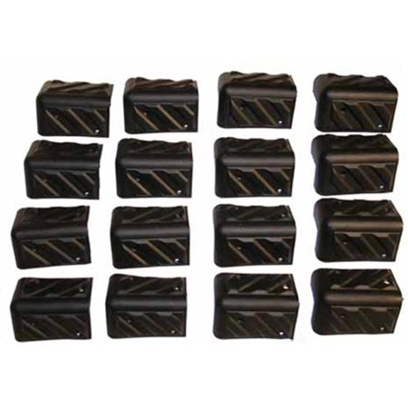 Seismic Audio Set of 16 SPEAKER CORNERS for PA/DJ CABINET Replacement Corners - Corners 322 ()
