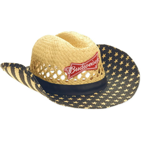 Budweiser Mens Vintage Cowboy Hat Walmartcom