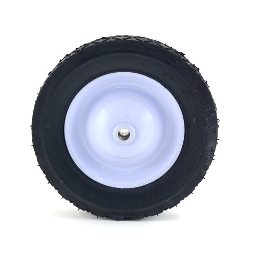 8-Inch Diamond Tread Steel Wheel - 60lb. Load-Rating, Replacement steel wheel By Arnold