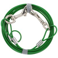 Dog It Vinyl-Coated 10 ft. Tie-Out Cable