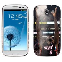 LeBron James Miami Heat Galaxy S3 Chalk Toss Phone Case - No Size