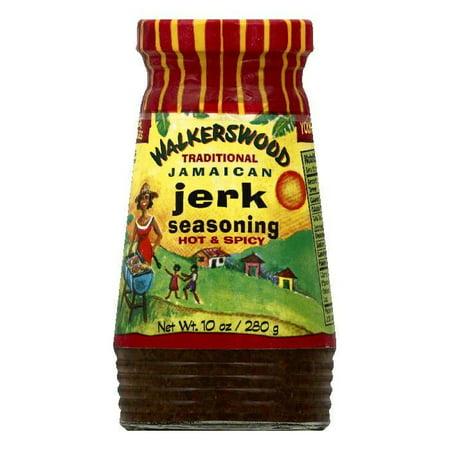 Walkerswood Hot & Spicy Traditional Jerk Seasoning, 10 OZ (Pack of 24)