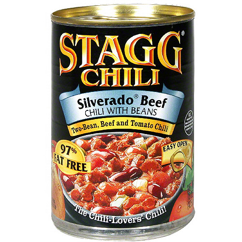 Stagg Chili Silverado Beef Chili With Beans, 15 oz (Pack of 12)
