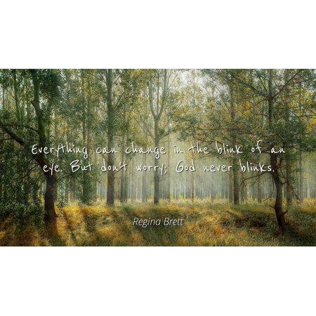 Regina Brett Famous Quotes Laminated Poster Print 24x20