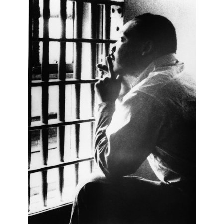 Laminated Poster Dr Martin Luther King Birmingham Jail Jr Poster Print 24 x