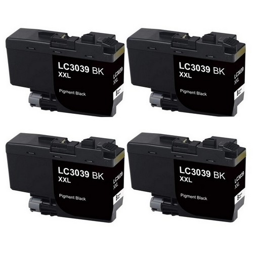 SuppliesMAX Compatible Replacement for Brother HL-6000//MFC-J5845//J5945//J6545//J6945DW Super High Yield Inkjet Combo Pack LC-3237XLVALBP BK//C//M//Y