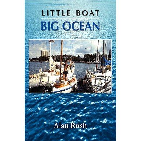 Little Boat Big Ocean - Little Man In The Boat