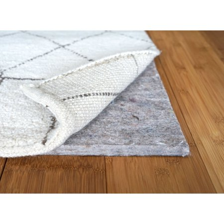 Rug Source 1/4 inch Superior Felt Thin Non Slip Rug Pad for Hardwood