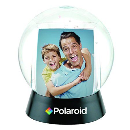 Polaroid Interactive Sphere Snow Globe Photo Holder  Great Display For Your 2x3 Polaroid Memories For Zink 2x3 Photo Paper Projects (Snap, Pop, Zip, Z2300)