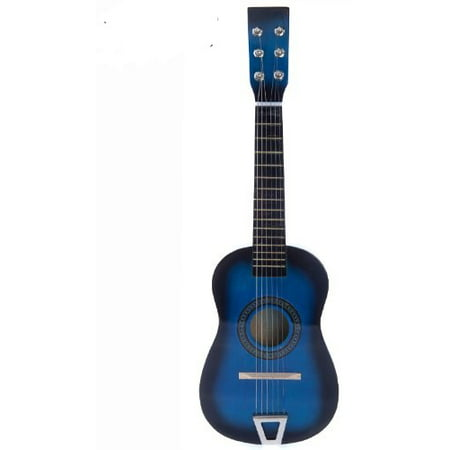 Blue Battery Operated Electric Hot Rock Toy Guitar 22