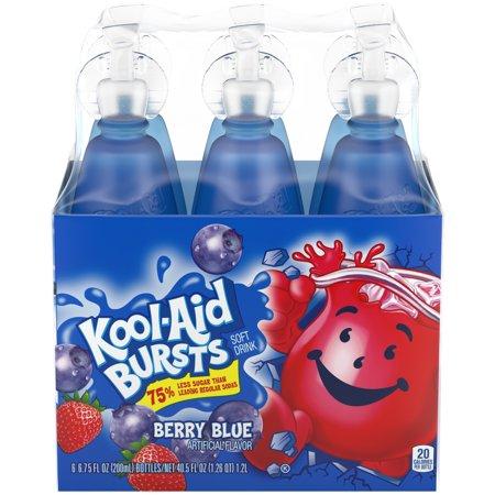 Kool aid bursts fruit juice berry blue 675 fl oz 6 count kool aid bursts fruit juice berry blue 675 fl oz 6 count sciox Choice Image