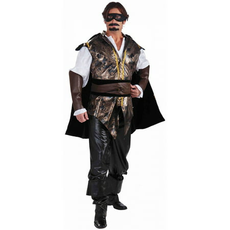Don Juan Adult Costume - Large - Juan Mata Halloween