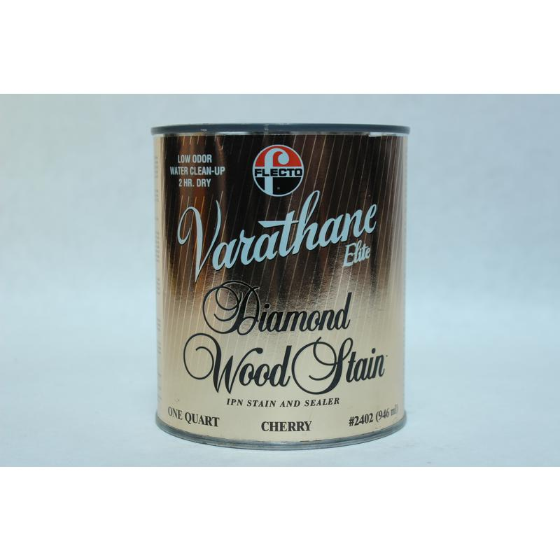 Cherry Diamond Wood Stain, 1 Quart Varathane Stain 2402 Cherry 026748240249