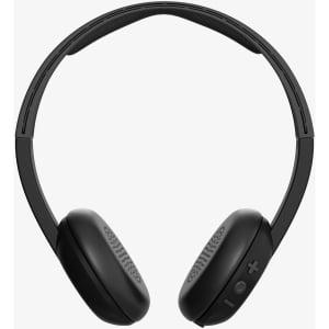 48e9199e1d2 Skullcandy S5URJW-547 Wireless On-Ear Bluetooth Headphones, Clear/Scribble  - Walmart.com