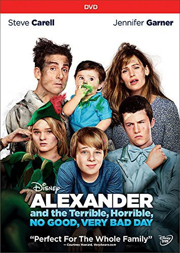 Click here to buy Alexander And The Terrible, Horrible, No Good, Very Bad Day.