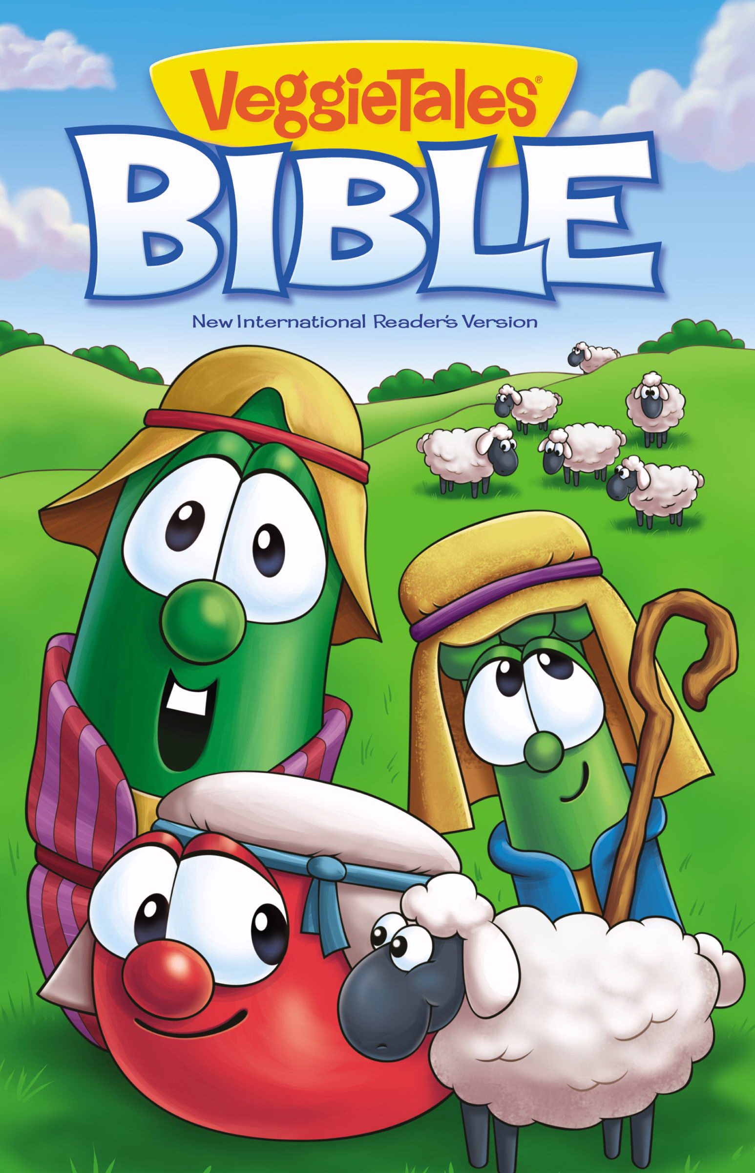 NIrV VeggieTales Bible (Updated)-Hardcover by Zonderkidz