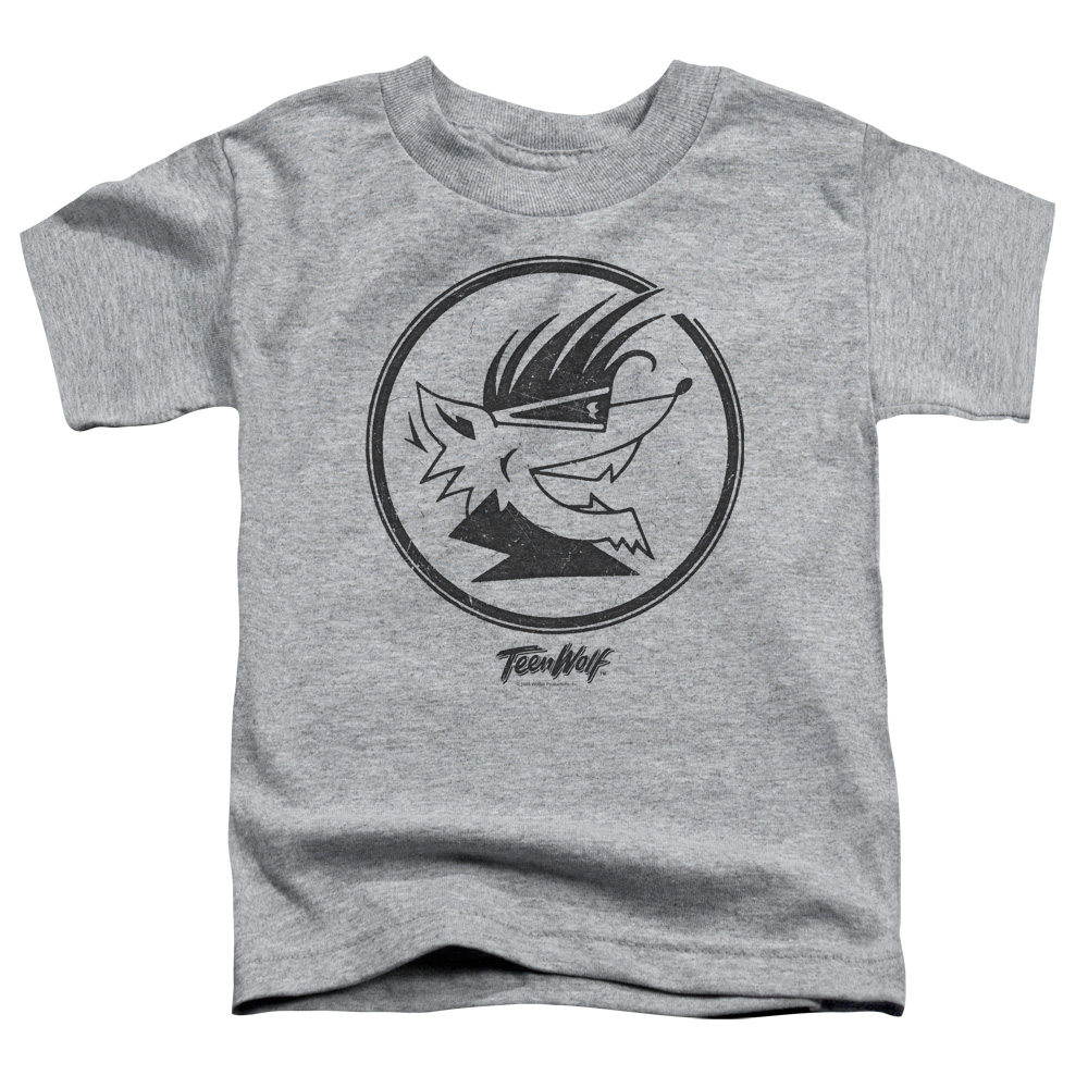 Teen Wolf Wolf Head Little Boys Shirt