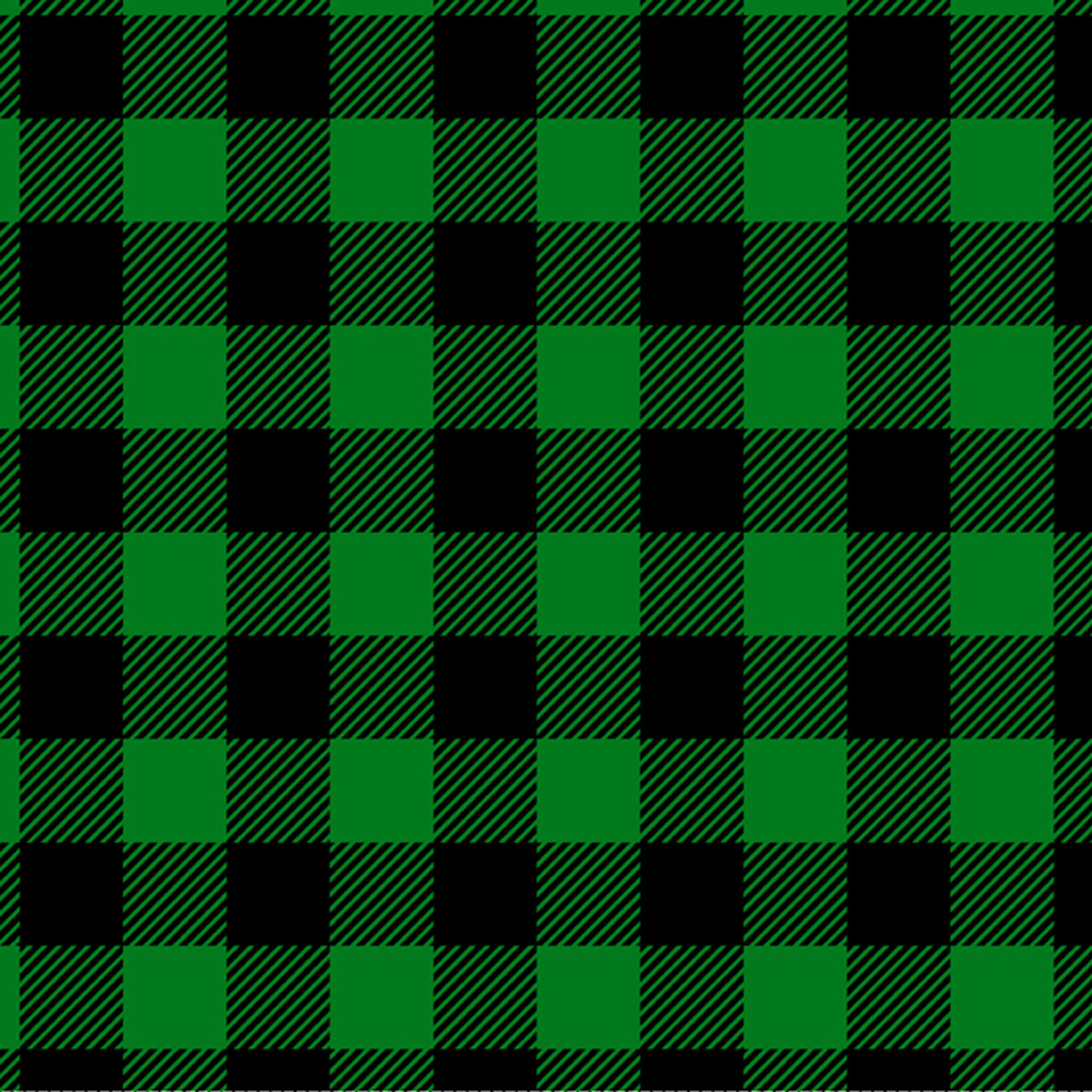 David Textiles Flannel Precut Fabric Buffalo Plaid 1.5 Yds X 42 Inches
