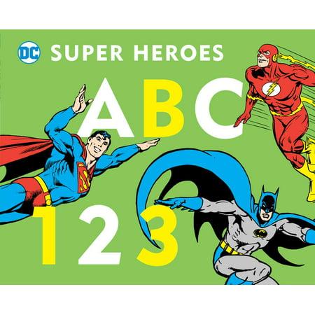 - DC Super Heroes ABC 123 (Board Book)