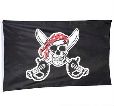 Pirate 3x5 Ft Flag - Play Kreative TM (PIRATE)