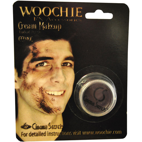Carded Purple Undead Mask Cover Halloween Makeup