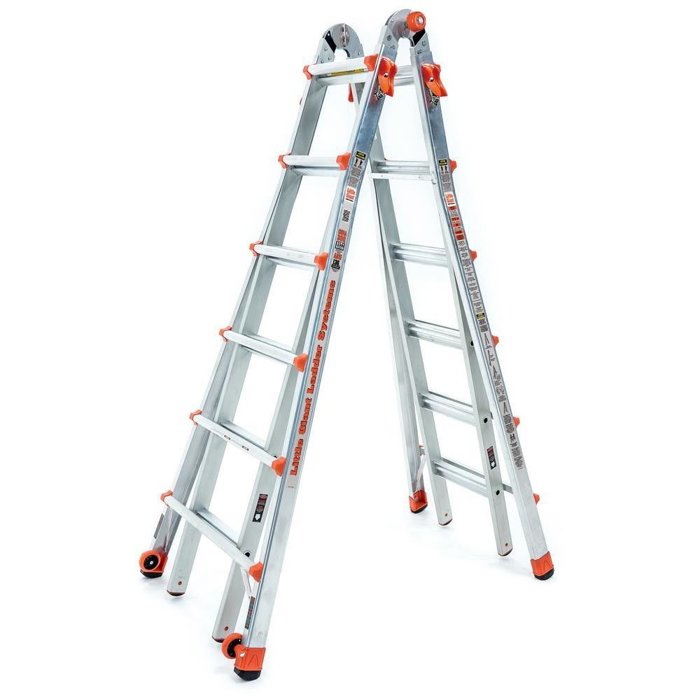 Little Giant Ladder Systems 26 Foot Type Ia Aluminum Multi Position Lt Ladder Walmart Com