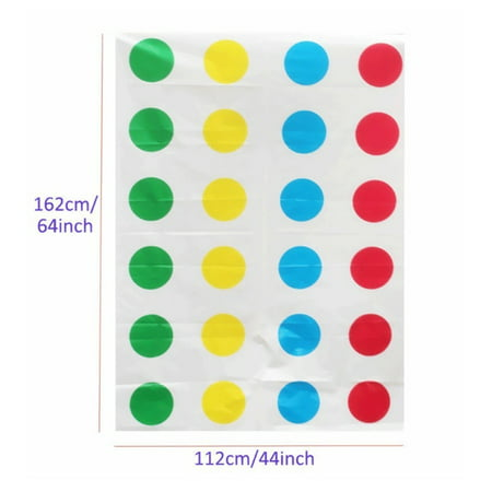 Twister Game Funny Kid Family Body Twister Move Mat Board Game Sport Toy - image 3 of 5