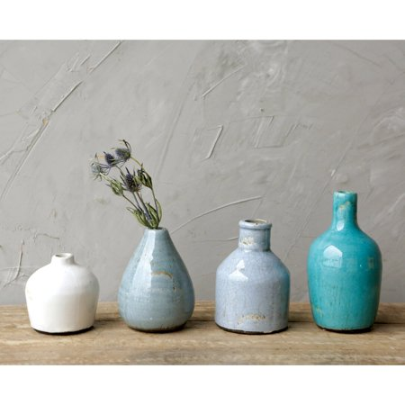 3R Studios Terra Cotta Vases - Set of 4