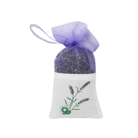 Real Lavender Organic Dried Flower Sachets Bud Bloom Bag Home Office Scent Fragrance Dry Lavender (Dried Flower Buds)