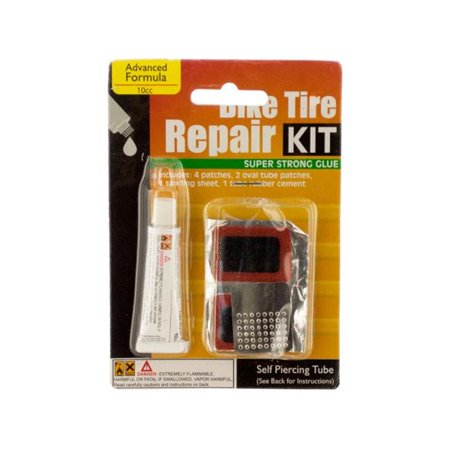 Kole Imports MO065-24 Bicycle Tire Repair Kit - Pack of 24 - image 1 de 1